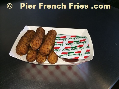 Pier French Fries - Mozzarella Sticks
